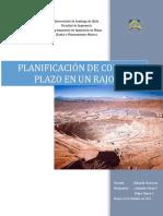 Planificacion de Corto Plazo en Open Pit