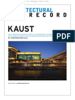 Architectural Record Kaust