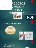 productos pasivos financieros