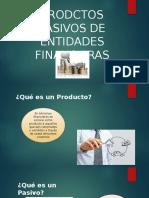 productos pasivos financieros