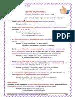 Conjugação Pronominal - Regras e Exercícios (Blog7 15-16)