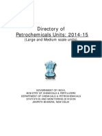 Directory of Petrochemicals Units 2014-15-0