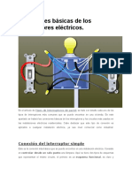 -Conexiones Básicas de Los Interruptores Eléctricos