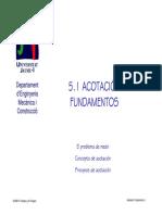 5.1.Acotacion Fundamentos