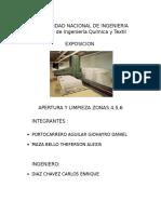 Apertura y Limpieza Zona 4, 5 y 6