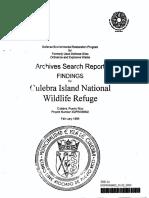 Archive Search Report - 1995 - Culebra NWRl