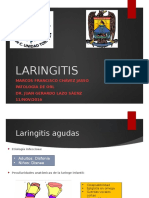 otorrino LARINGITIS