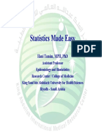 Statistics Made Easy Presentation