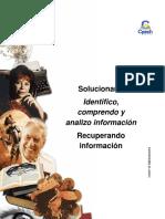 Solucionario Clase 12 Identifico, Comprendo y Analizo Información 2016