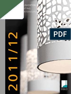 Eglo 90017 Malva Wand /& Deckenleuchte Beige Weiss Nickel-Matt