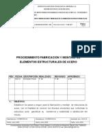 Procedimientos Fabricacion y Montaje de Estructuras de Acero