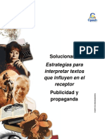 Solucionario Clase 14 Estrategias para interpretar textos que influyen en el receptor 2016 CES.pdf
