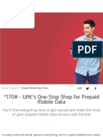 Etisalat UAE | Prepaid Mobile Data Plans