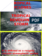 Tropical Cyclones or Trs