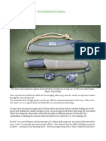 Getting Started With Bushcraft - Kit Considerations for Beginners