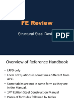 FE Review-Steel Design 2015-2
