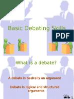 Basic Debating Skills