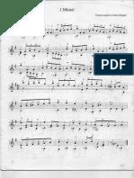 BACH JUAN SEBASTI_N Minuet en Sol Mayor. Transcripciónn Piegari.pdf