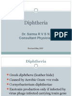 Diphtheria by Dr Sarma