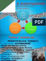 presentazione lavori robotica in rete2007 prof mazza luigi torino