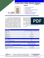 High-Precision Voltage Separating Transformer