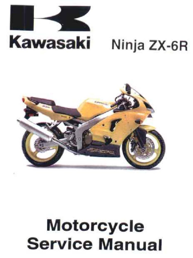 2003 Kawasaki Ninja 636 Service Manual Various Owner Guide Wiring Diagram Zx6r 00 02 Rh Scribd Com Pink