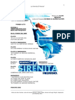 La Sirenita - El Musical - Bp
