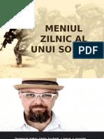 Meniul Zilnic Al Unui Soldat