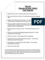 PB Tips for Parents