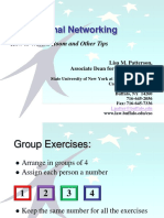 The Art of Networking Ppt