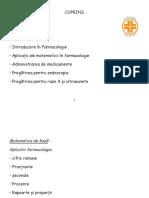 Introducere În Farmacologie