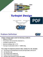 turbojet engine design