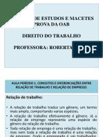 ROTEIRO DE ESTUDOS E MACETES PROVA DA OAB DIREITO DO TRABALHO.pdf