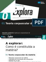 1 - Teoria Corpuscular Da Matéria