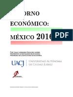 Entorno Económico México 2016