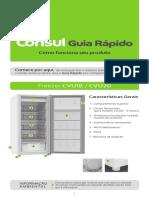 _freezer Consul BR Guia Rápido W10636974 Modelos CVU18 20