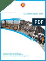 Bangladesh Disaster Report 2013