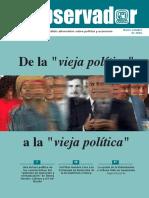 El Observador. Análisis Alternativo sobre Política y Economía Nos. 51-52