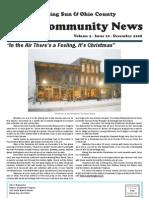 Rising Sun & Ohio County Community News ~ December 2008 Edition