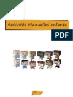 Activites Manuelles Enfants - eBook - 1001feuilles