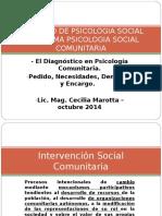 intervención diagnostico comunitario