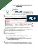 Instructivo de Llenado de Declaración Jurada-Actualizado