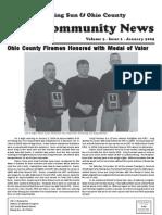Rising Sun & Ohio County Community News ~ January 2009 Edition