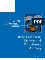 Sensory Marketing Blue Paper