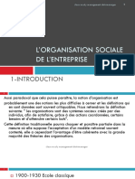 l Organisation Sociale de l Entreprise