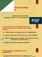 39. Simplificacion Del Trabajo en Oficina