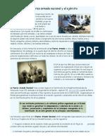 La Fuerza Armada Nacional y El Ejército