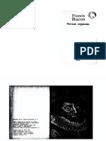 1- Bacon - Novum Organum.pdf