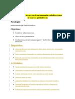 Protocolo de Atencion de Enfermeria en Infecciones Urinarias Pediatricas
