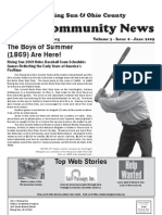 Rising Sun & Ohio County Community News ~ June 2009 Edition